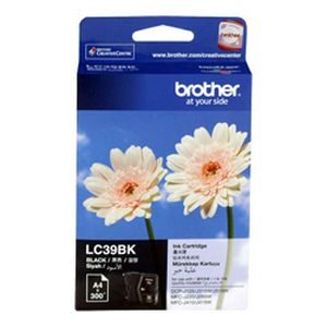 Brother LC-39 Black Inkjet Cartridge - GENUINE