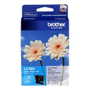 Brother LC-39 Cyan Inkjet Cartridge - GENUINE