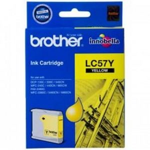 Brother LC-57Y Inkjet Cartridge - GENUINE