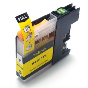 Compatible Brother LC133Y Ink Cartridge