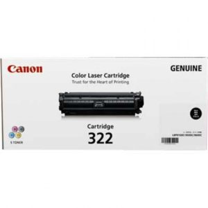 Canon CART-322 Black Toner Cartridge - 6,500 pages