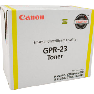 Canon (GPR-23) IRC-2880 / 3380 Yellow Copier Toner - 14,000 pages