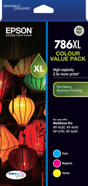 Epson 786XL 3 Col Value Pack