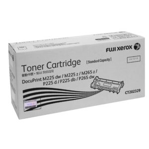 Fuji Xerox CT202329 Black Toner Cartridge - 1,200 pages