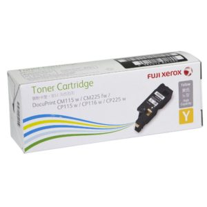 Fuji Xerox CT202267 Yellow Toner Cartridge - 1,400 pages