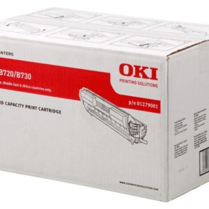Oki B720 Black Toner Cartridge - 15,000 pages
