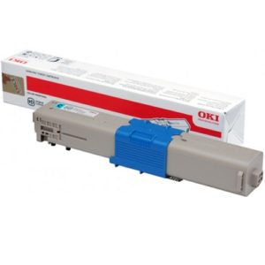 Oki C301 OKI C301/OKI C321 Yellow Toner Cartridge - 1,500 pages